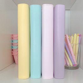 Planner A5 Pastel, 4 couleurs au choix, compatible Filofax
