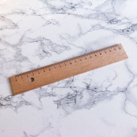 Règle en bois 20cm