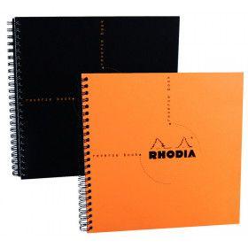 Rhodia Classic, cahier spirale à pointillés carré