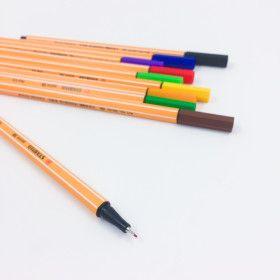 Stylo Feutre STABILO point 88, à l'unité, 47 couleurs au choix!