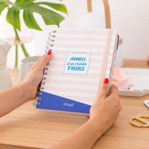 Agenda scolaire Mr Wonderful, planner journalier  2018/2019