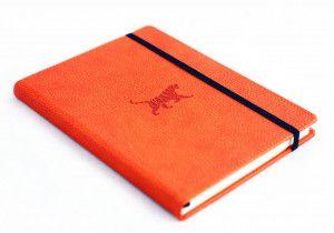 Carnet à pointillés Dingbats orange
