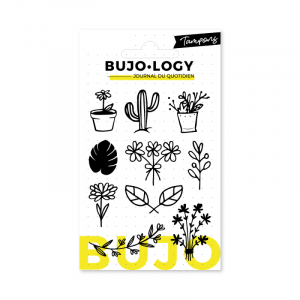 clear stamps plantes