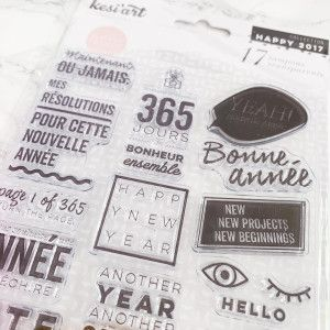 Clear Stamps - Happy new year