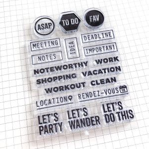 Clear Stamps annotations