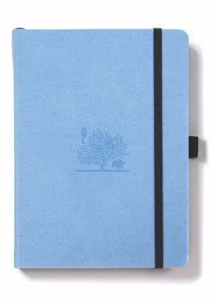 dingbats édition bullet journal bleu