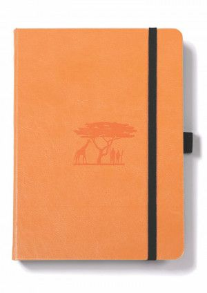 Carnet Dingbats* Earth, édition Bullet Journal, orange