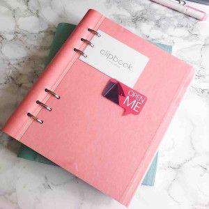 Filofax Clipbook classic pastel rose