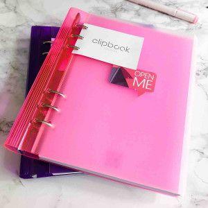 Filofax Clipbook Gummy en A5 couleurs