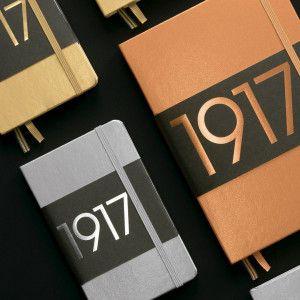 Leuchtturm1917, carnet pointillés format A5 - édition limitée Metallic