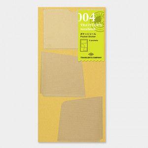 stickers Midori 004 traveler's notebook