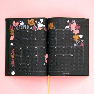 Carnet Pointillés Life Journal - Quo Vadis / format A5, BLACK édition