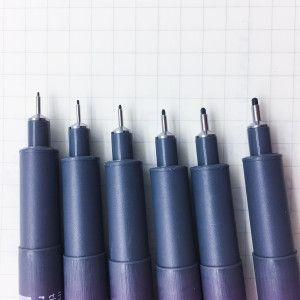 Pigment Liner - Feutres noirs