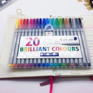 Triplus FineLiner - Brilliant Colours pochette de 20