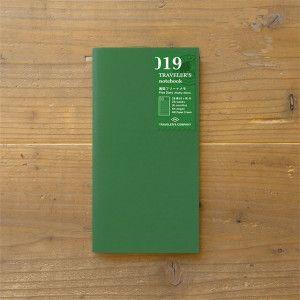 Recharge Traveler's Notebook - Midori 019 (SEMAINE)