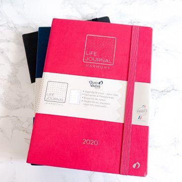 Agenda façon BUJO® tout fait, Life Journal Harmony