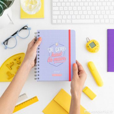 agenda mr wonderful - bujo tout fait - semainier 2020
