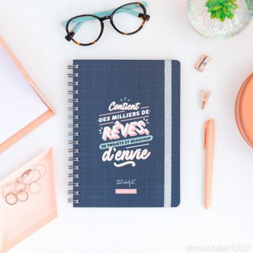 agenda semainier mr wonderful 2020