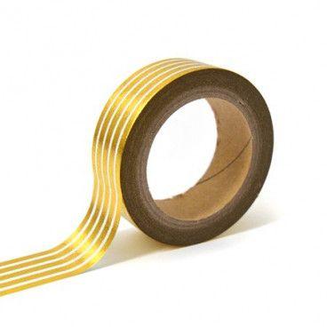 Masking tape or rayures