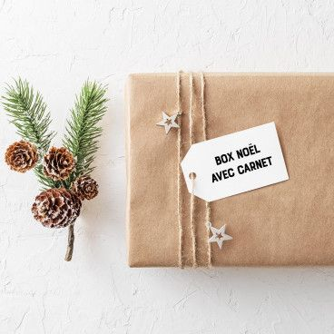 Box Bullet Journal, édition Noël AVEC carnet