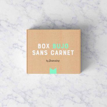 Box pour Bullet Journal® sans carnet.