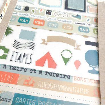 Kit d'accessoires BUJO et Planner / Voyage