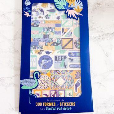 Kit d'accessoires BUJO et Planner / Jungle Vibes