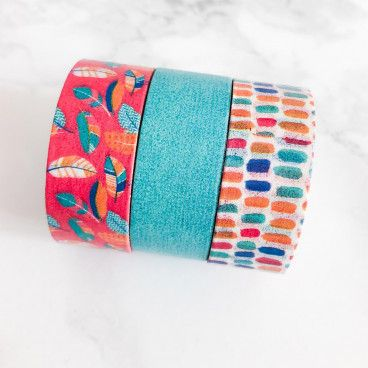 Washi Tape 15 mètres. Collection Apache