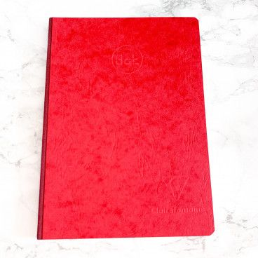 Carnet DOTS Clairefontaine rouge