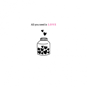 All you need is love - Printable gratuit