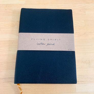 carnet bullet journal cuir noir