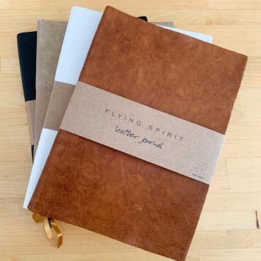 carnet en cuir pour bullet journal