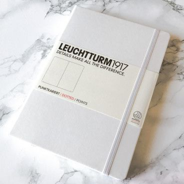 leuchtturm1917 blanc bullet journal