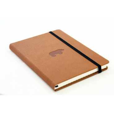 carnet bullet journal camel