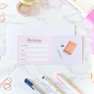Chèque Cadeau - envoi par mail ou par courrier