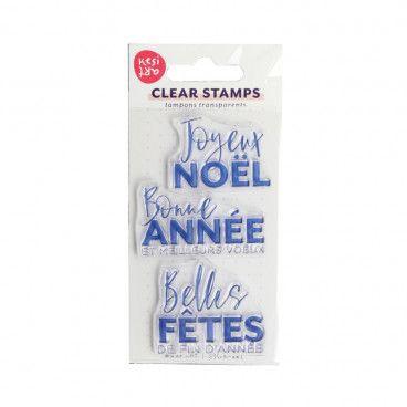 Clear Stamps Voeux de fin d'année