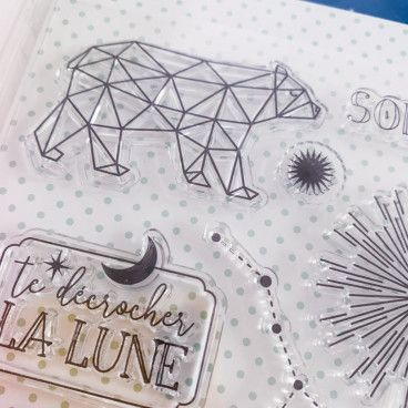 20 Clear stamps Constellations