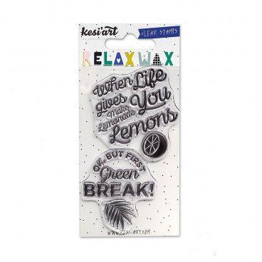 Clear Stamps - Lemonade / Green break