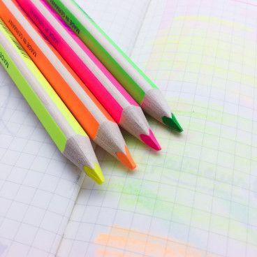Surligneur Crayon de bois
