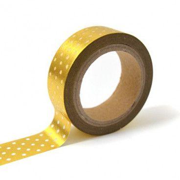 Masking tape or pois blanc