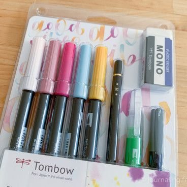 Tombow - Kit Blended lettering Good Vibes