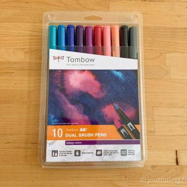 Set Galaxy - 10 feutres ABT Tombow