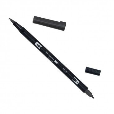 feutre noir tombow calligraphie