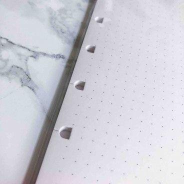Recharge pointillés pour Filofax Notebooks A5