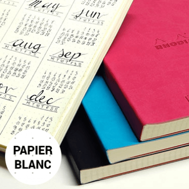goalbook papier blanc couverture souple