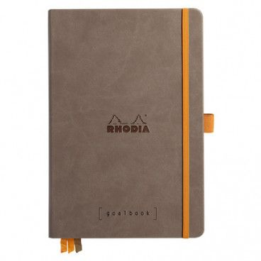Rhodia Goalbook couverture rigide / Choco