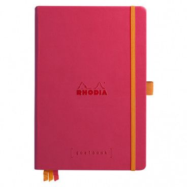 Rhodia Goalbook couverture rigide / Framboise