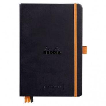 Rhodia Goalbook couverture rigide / Noir