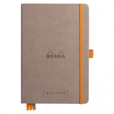 Rhodia Goalbook couverture rigide / Taupe