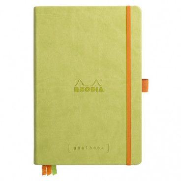 Rhodia Goalbook couverture rigide / Vert Anis